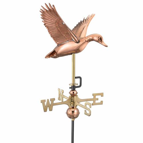 Good Directions Flying Duck Garden Weathervane