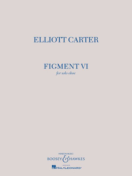 Figment VI : Solo Oboe by Boosey and Hawkes