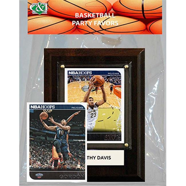 Candlcollectables 46LBPELICANS NBA New Orleans Pelicans Party Favor With 4 x 6 Plaque
