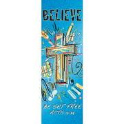 Banner-Believe (1' x 3') (Indoor)