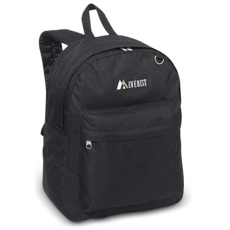 Everest 2045CR Classic Backpack (Price/Each), Everest Backpack - Black