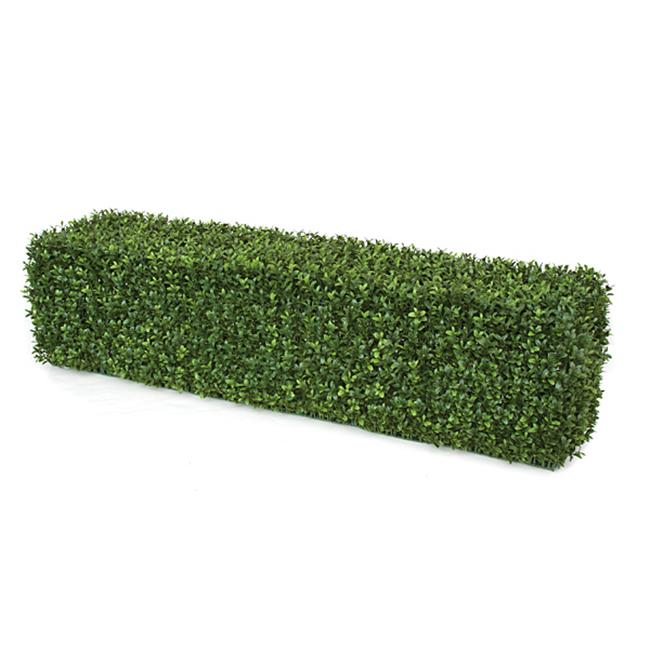 Autograph Foliages AUV-123200 48 x 12 x 12 in. BOXWOOD HEDGE - GREEN