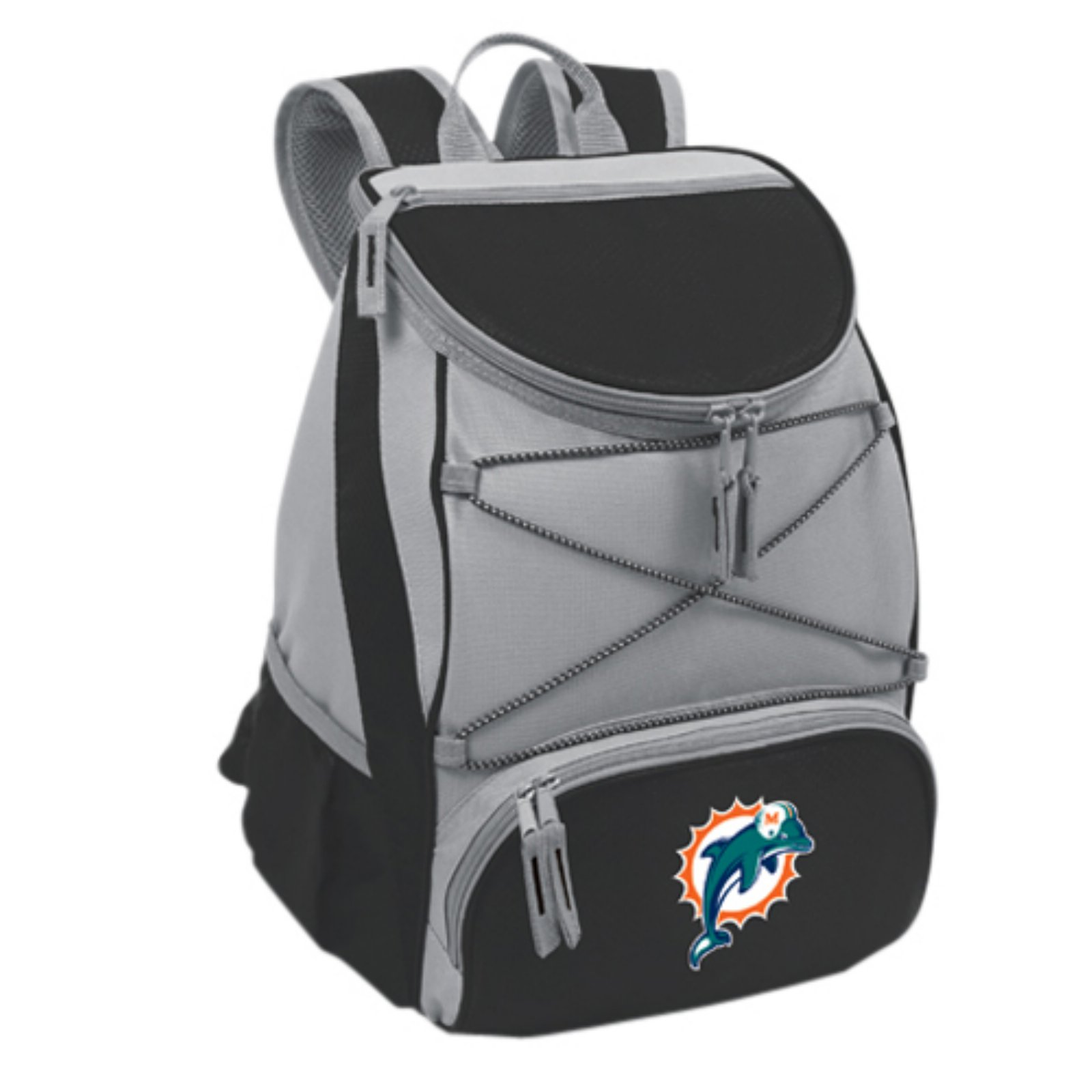 Picnic Time PTX Cooler, Black Miami Dolphins Digital Print