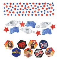 WWE Wrestling Confetti Value Pack (3 types)