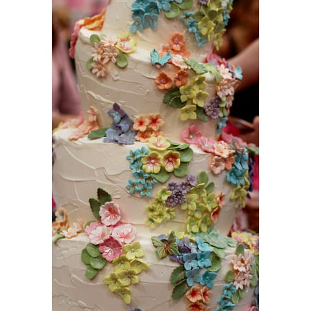 canvas print wedding flowers marry decoration love wedding cake stretched canvas 10 x