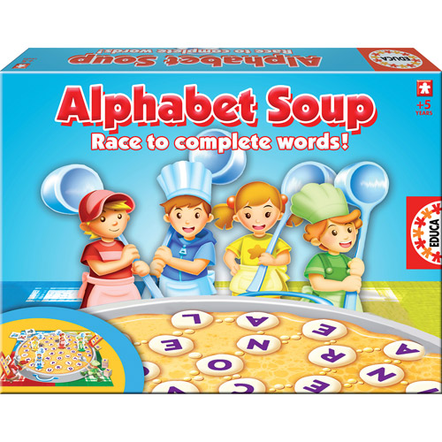 Educa Alphabet Soup Game