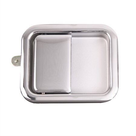 Omix Ada Paddle Door Handle, Chrome; 81-06 Jeep CJ/Wrangler YJ/TJ