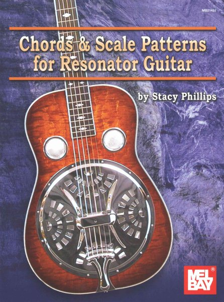Chords & Scale Patterns for Resonator Guitar Chart by Mel Bay Publications