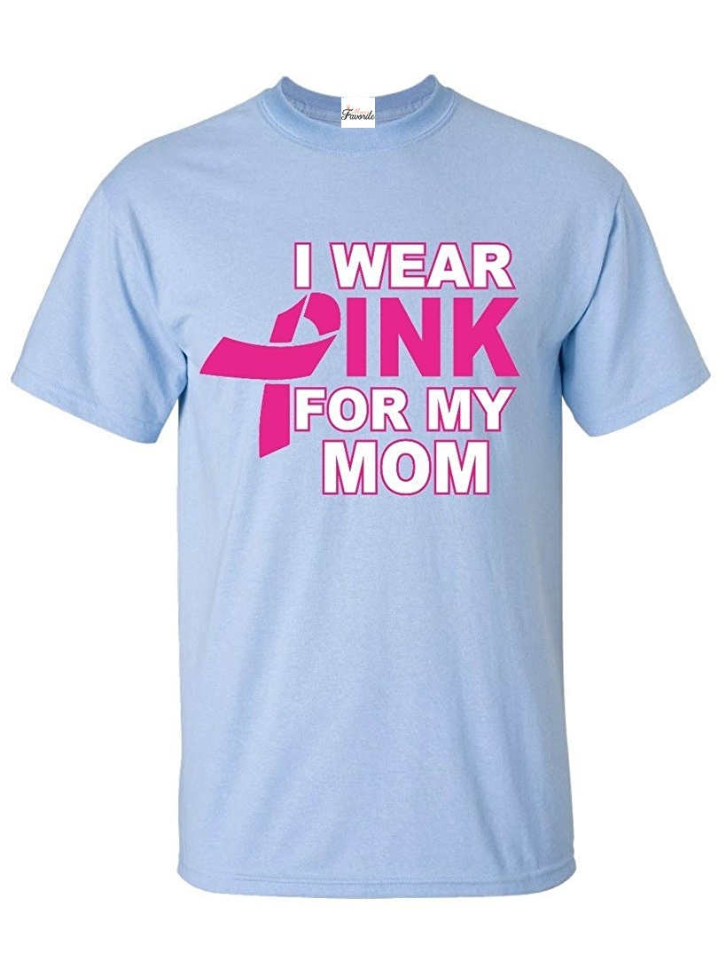 Details about  /I Wear Pink For My Mommy Mens Shirt