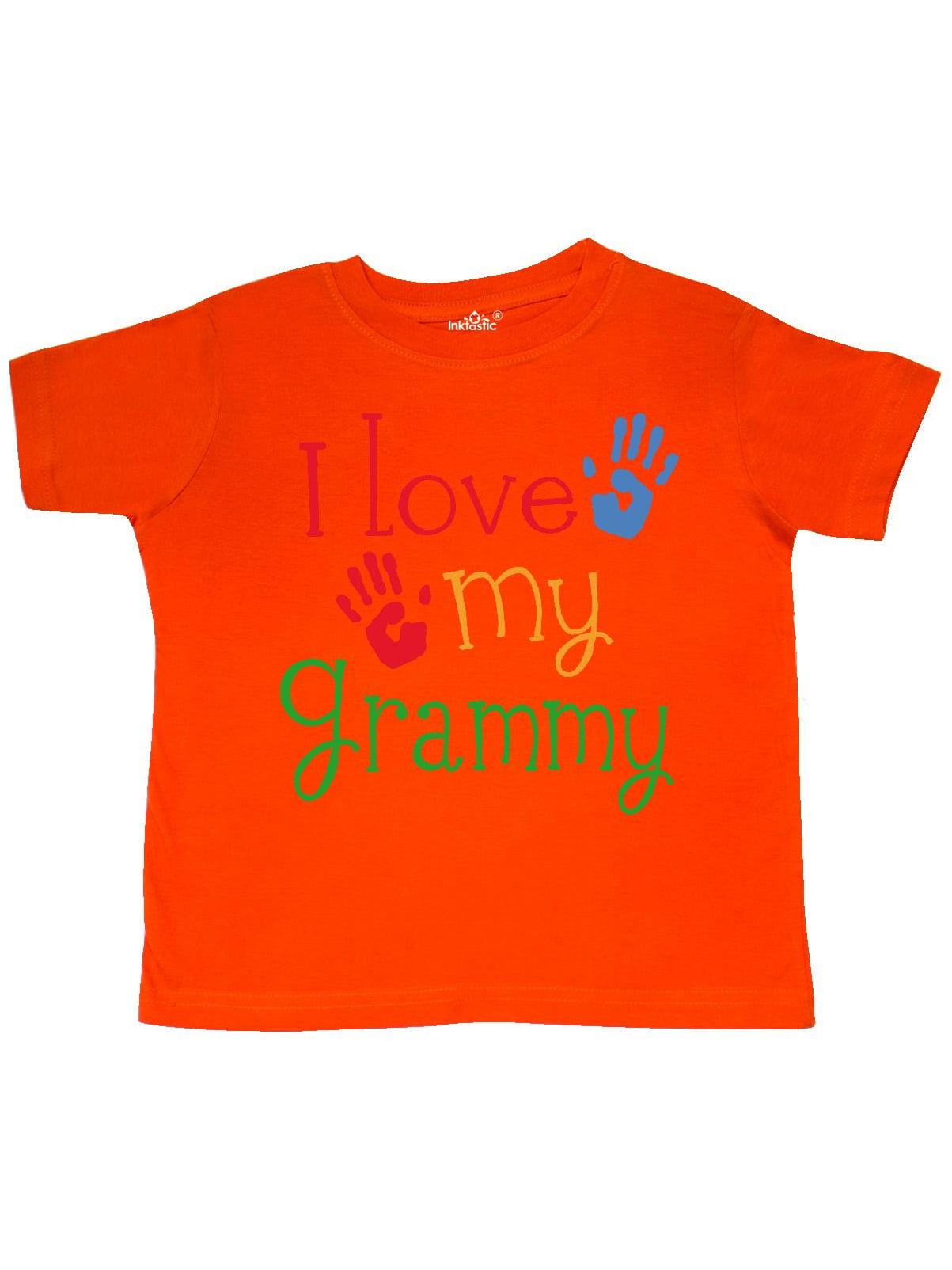 I Love My Grammy Toddler T-Shirt