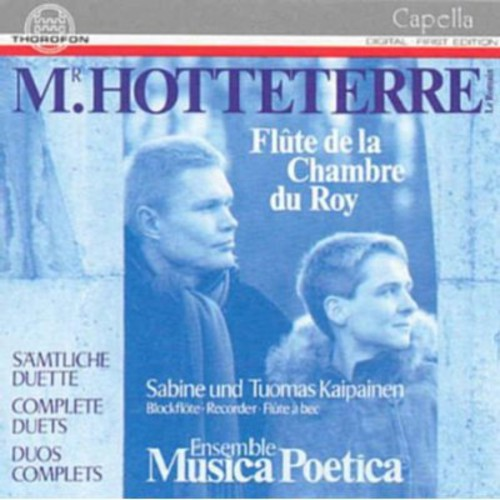 Jacques Martin Hotteterre Flute Duets [CD] by