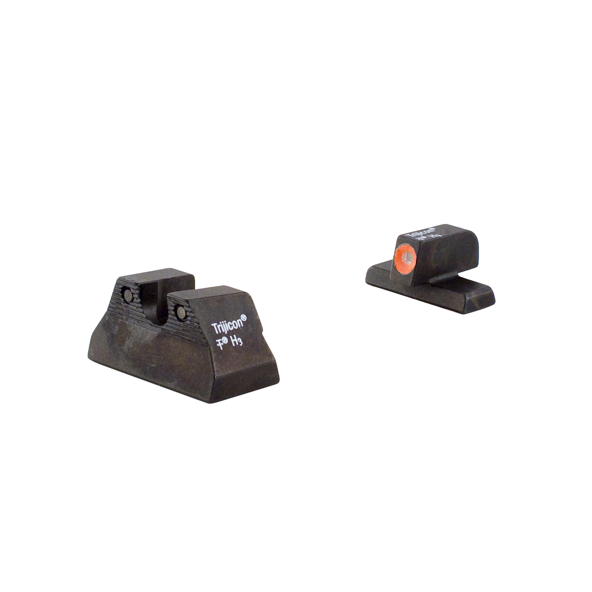 Trijicon H&K HD Night Sight Set USP Compact Models, Orange Front Outline Lamp by Trijicon