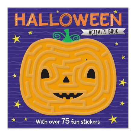Maze Activity Books Halloween (Cardboard Maze Halloween)