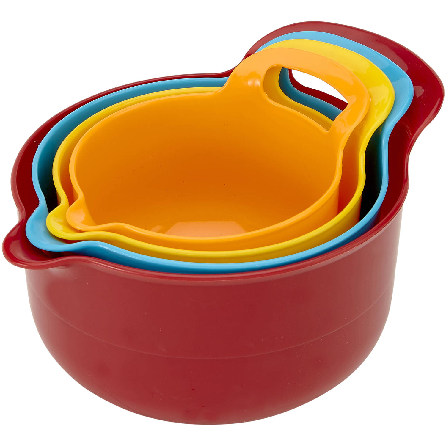 Kitchen Details 4-Piece Mixing Bowl Set by Kennedy International, INC.