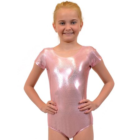 Mystique Leotard (Girl's Sparkling RHINESTONE Mystique Leotards - X Large (12) / Mystique Light Pink )