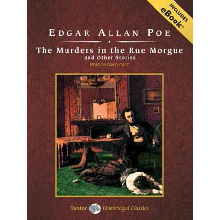 Tantor Unabridged Classics: The Murders in the Rue Morgue and Other Stories, with eBook (Audiobook)](Rue Morgue Halloween)