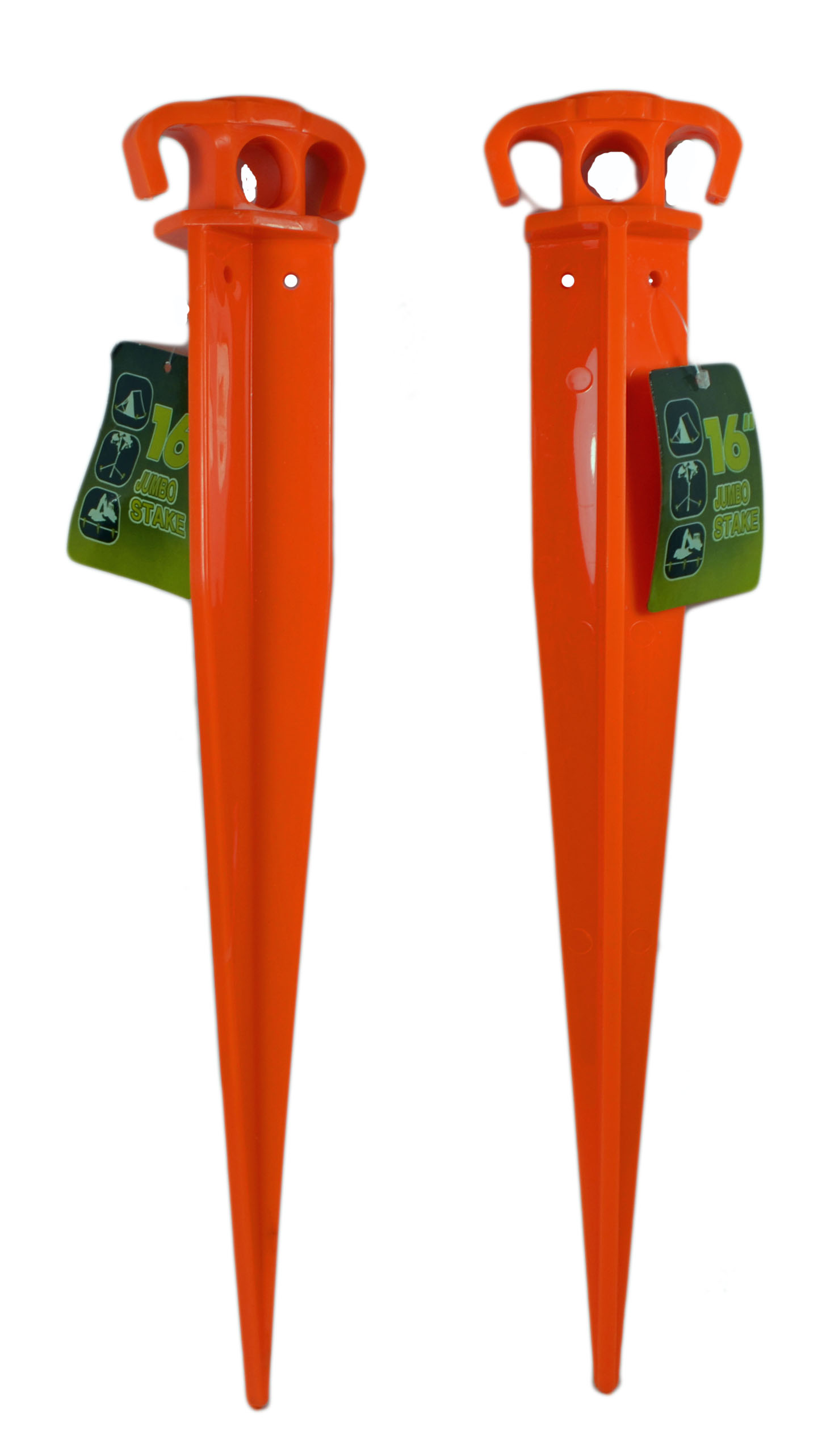 Lot of 2 Heavy Duty Plastic 16  Plant Tent Stakes  sc 1 st  Walmart & Lot of 2 Heavy Duty Plastic 16