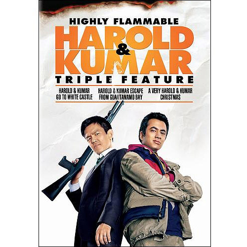 Highly Flammable Harold & Kumar Triple Feature: Harold & Kumar Go To White Castle / Harold And Kumar Escape From Guantanamo Bay / A Very Harold & Kumar Christmas (Widescreen)