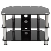 """AVF Classic Corner Glass TV Stand with Cable Management for up to 42"""""""