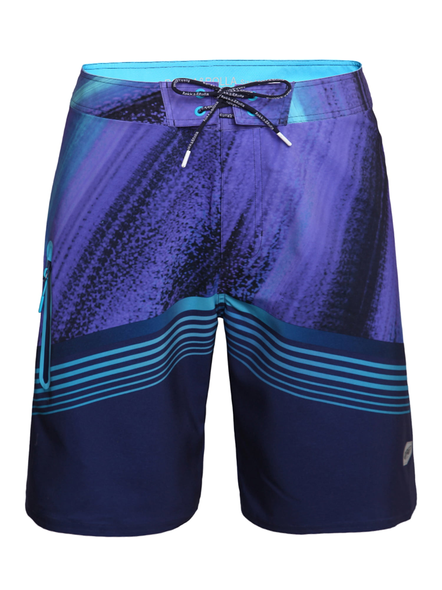 Fantasy Purple Cat Mens Swim Trunks Quick Dry Bathing Suits Summer Casual Surfing Board Shorts