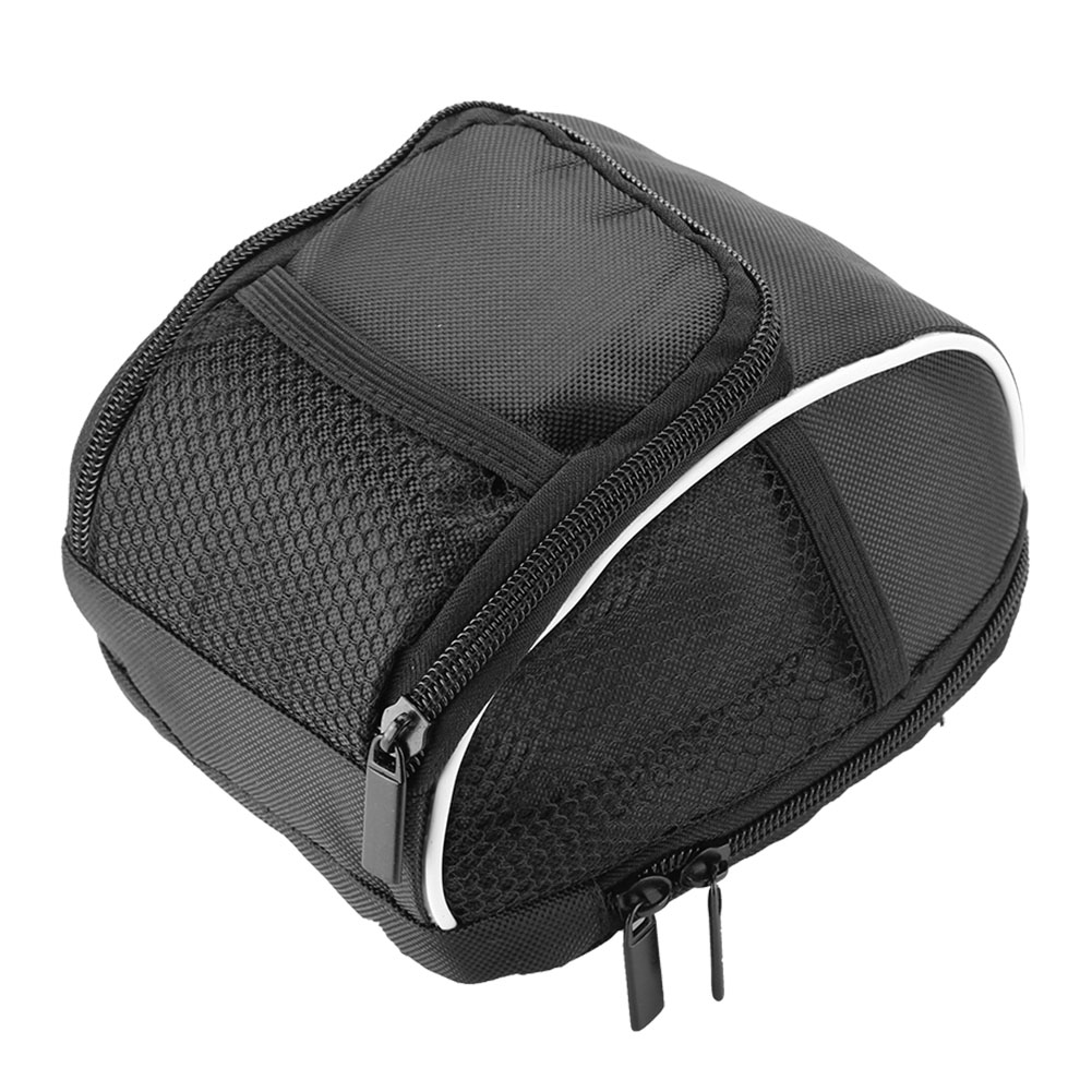 Yosoo Black Multi-function Quick Release Bicycle Cycling Front Frame Tube Handlebar Bag Pouch , tube handlebar bag, bike frame bag