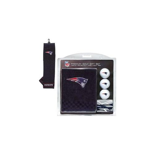 Team Golf 31720 New England Patriots Embroidered Towel Gift Set