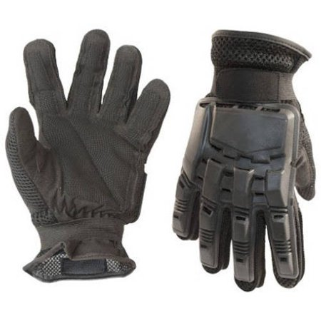 ALEKO PBFFG43M Medium Paintball Outdoor Sports Full Finger Gloves Black
