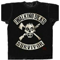 The Walking Dead Survivor Adult T-Shirt