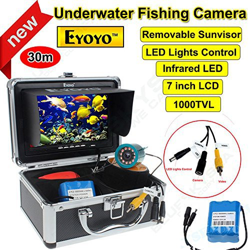 Eyoyo Original 30m Fish Finder Underwater Fishing Video C...