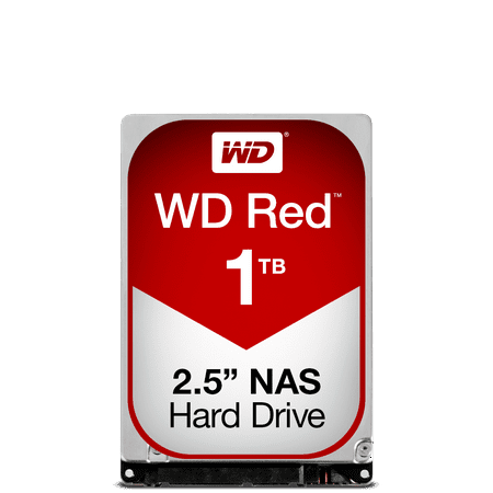 WD Red 1TB NAS Hard Disk Drive - 5400 RPM Class SATA 6Gb/s 16MB Cache 2.5 Inch - (Best Nas Storage For Mac)