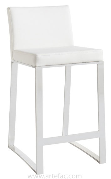 Artefac Modern Bar Stool White Bar Height Walmart Canada
