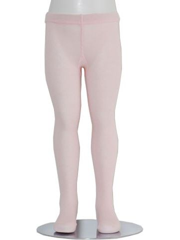 Pink Piccolo Heavyweight Opaque Baby Girl Tights 0-24M