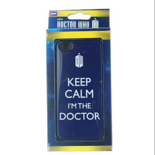 """Underground Toys Doctor Who """"Keep Calm I'm The Doctor"""" iPhone 5 Case"""