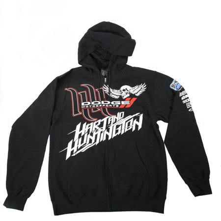 Dodge Motorsports Black Main Team Fleece Jacket Medium