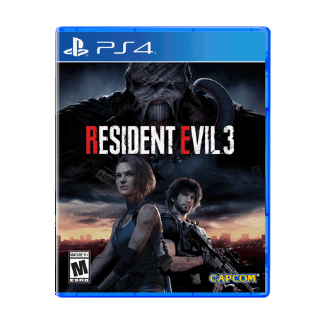 Resident Evil 3, Capcom, PlayStation 4, 013388560646