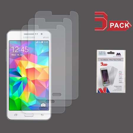 For Samsung Galaxy Grand Prime G530 Clear Screen Protector Film (3-pack) ()