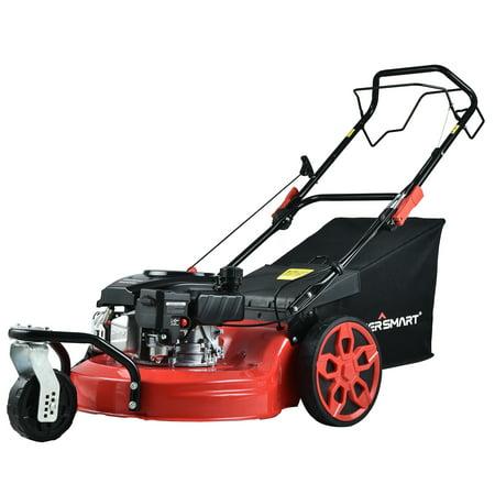 PowerSmart PSM2020 20 in. 3-in-1 170cc Gas Self Propelled Lawn Mower