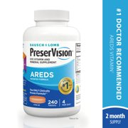 PreserVision® AREDS Formula Vitamin & Mineral Supplement 240 ct Tablets