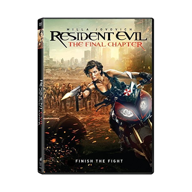 Resident Evil: The Final Chapter (DVD)