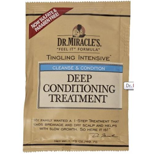 Dr. Miracle's Feel It Formula Deep Conditioning Treatment, 1.75 oz (Pack of 3)