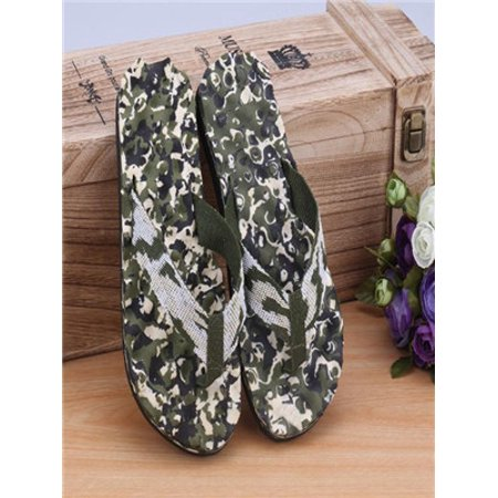 Summer Flip Flop Sandals - Men Summer Camouflage Flip Flops Shoes Sandals Slipper indoor & outdoor GN41