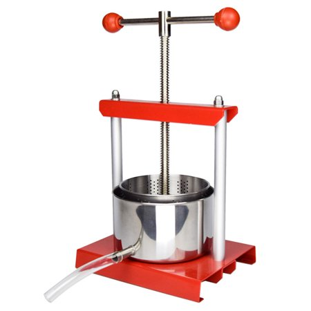EJWOX  Fruit Wine Juice Press  0.53 Gallon Stainless Steel Soft Cheese Making Tincture Herbal - Stainless Steel Cheese Press