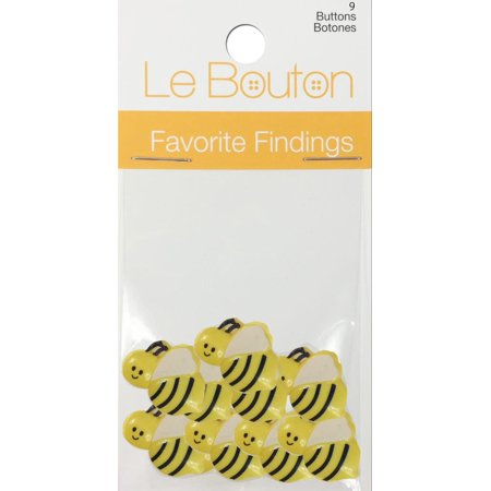 Favorite Findings Buttons - Bumble Bees