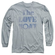 The Love Boat Distressed Mens Long Sleeve Shirt