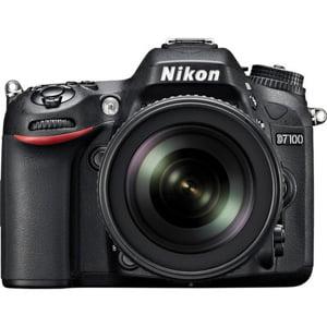 Nikon Black D7100 Digital SLR Camera with 24.1 Megapixels (Body Only) (Black Digital Camera Body)