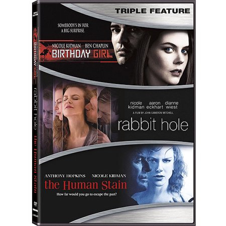 Nicole Kidman Triple Feature  Rabbit Hole   Birthday Girl   The Human Stain  Widescreen