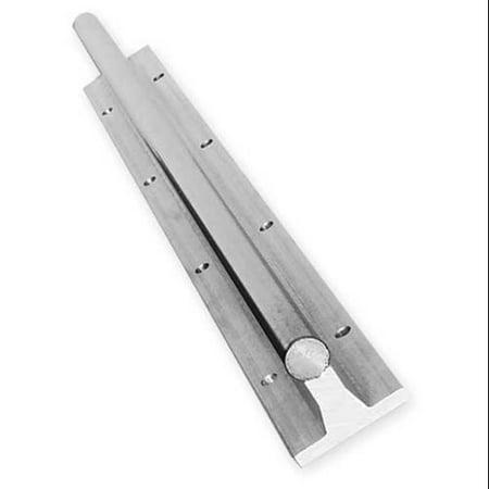 0.625' Rail (PBC Linear SRA10-024.000 Rail Assy, Alum & Steel, 0.625 In D, 24 In)