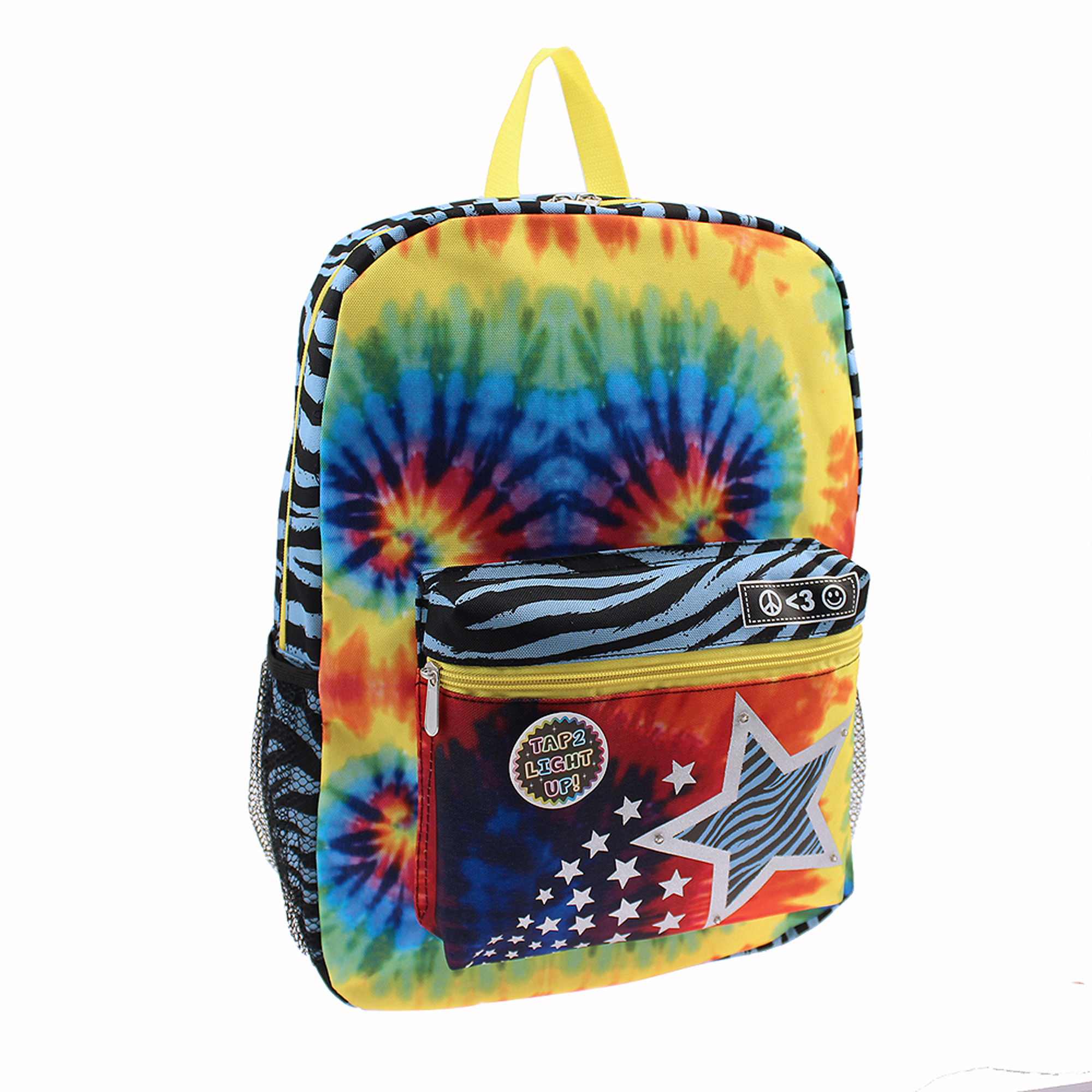 "Star Printed 16"" Light Up Backpack"