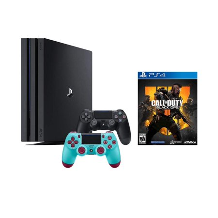 layStation 4 Call of Duty Black Ops IIII and 4K HDR PlayStation 4 Pro 1 TB Console with Extra Berry Blue Dualshock 4 Wireless Controller (Split-Screen Play (Black Ops Co Op Campaign Split Screen)