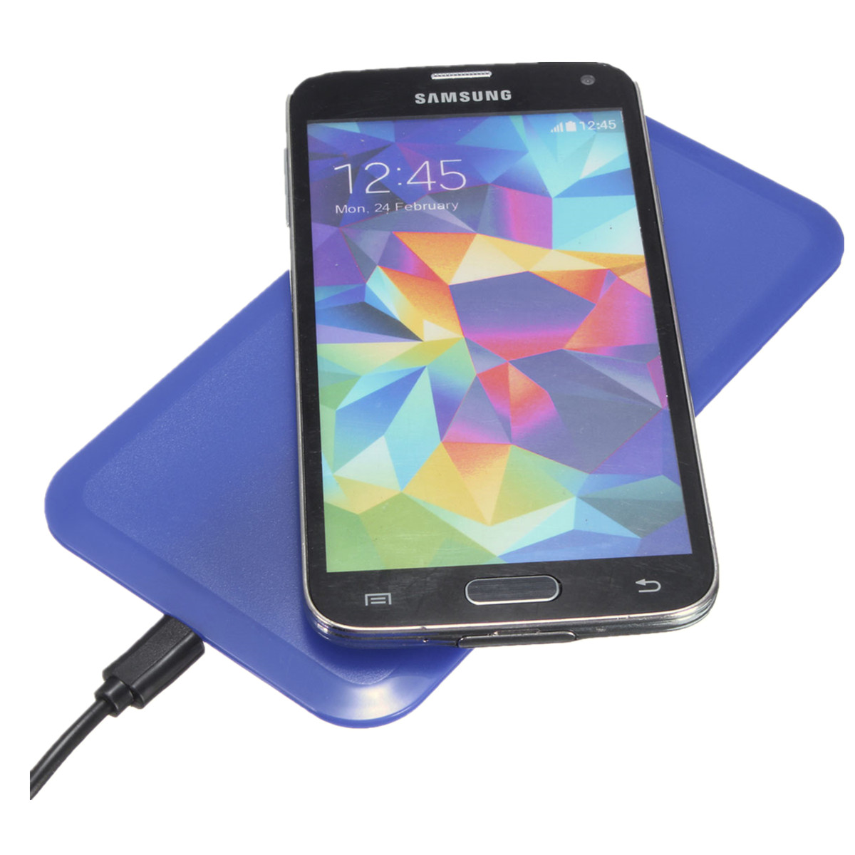 QI Slim Wireless Charging Charger Pad Mat For Smartphones Android Phone and all Qi-Enabled Devices